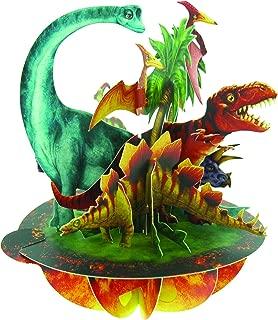 Santoro Pirouettes Jurassic Dinosaurs 3D Pop Up Card