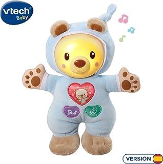 VTech- Cuco Cuna Muñeco Infantil con Relajantes Melodías, Canciones y Sonidos de la Naturaleza, Suave Luz Noche, Multicolor (3480-502122) , color/modelo surtido