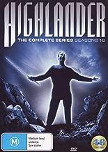 Highlander: The Complete Series: Seasons 1-6 Australian