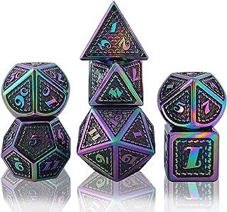 Schleuder Poliedrici Dadi D&D Dice Set DND, Dadi da Gioco per Rpg Dungeons & Dragons, Pathfinder Gioco di Ruolo Gioco da T...