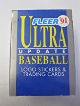1991 Fleer Ultra Update Baseball Factory Sealed Complete Set #1-120 with Mike Mussina, Ivan Rodriguez, and Jeff Bagwell Rookies