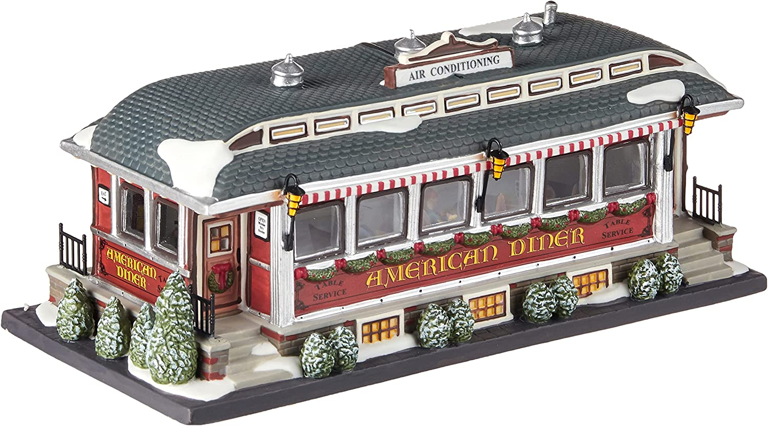 sale Department 56 Christmas in the Direct store Diner City American