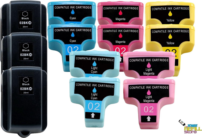 HP PhotoSmart C5100, C5140, C6250, C6270, C6280 (3BK, 2C, 2M, 2Y, 2PC, 2PM)
