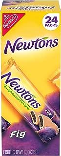 Newtons Soft & Fruit Chewy Fig Cookies, 24 Snack Packs (2 Cookies Per Pack)