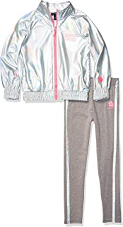 Girls' 2 Piece Windbreaker Jacket and Legging Set