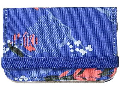 Haiku RFID Mini Wallet 2.0 (Paintbrush Print) Handbags