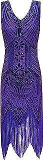purple 20s dress