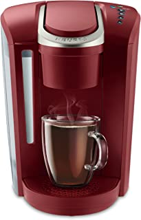 Keurig K-Select Single Serve K-Cup Pod Coffee Maker, With Strength Control and Hot Water On Demand, Vintage Red (Renewed)
