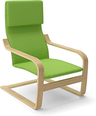 Amazon.com: Ikea Poang Chair Armchair with Cushion, Cover ...