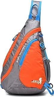 Sling Bag Backpack, SEEU Ultralight Shoulder Bag Chest Bag for Women Men Kid 20L