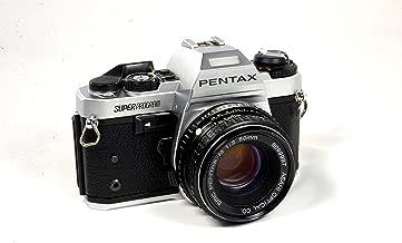 Pentax Super Program 35mm SLR Film Camera with SMC Pentax-A 1:2 50mm Lens