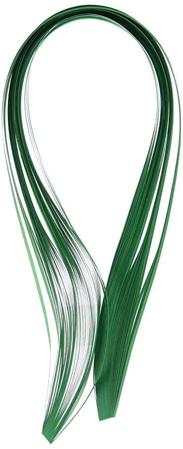Quilled Creations Quilling Paper, 1/8-Inch, Leaf Green, 50 Per Package