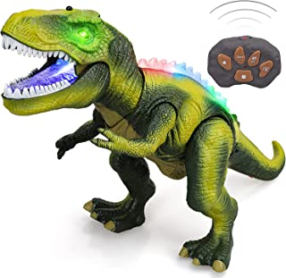 STEAM Life Remote Control Dinosaur Toys for Kids 3 4 5 6 7+ Light Up & Realistic Roaring Sound - T rex Dinosaur Toys - Ele...