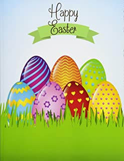 Happy Easter!: XL Greeting Card for That Special Someone - Contains Wonderful Easter Art Inside with a Notepad; Easter Card in Al; Easter Cards in Al; Easter Cards in Office; Easter Card in Office; Easter Crafts in Al; Easter Cards for Kids in Al