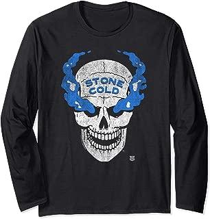 Stone Cold Distressed Blue Smoke Skull