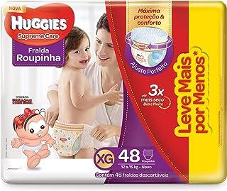 Fralda Huggies Supreme Care Roupinha Hiper XG, 48 Fraldas