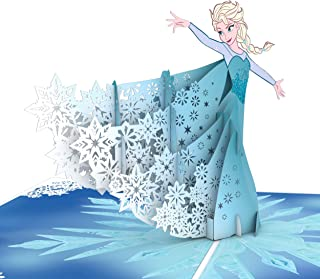 Lovepop Disney Frozen Elsa Pop Up Card, 3D Birthday Card, Disney Card, Princess Card, Greeting Card, Popup Birthday Card