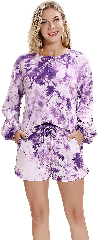 SANQIANG Hand Tie-Dye Couple Pajamas Set P Pieces 2 卸直営 Casual 国内正規品 Men's