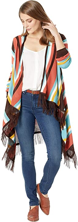 Carlie Lightweight Fringe Accent Sweater
