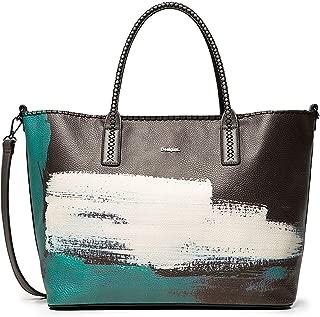 Luxury Fashion   Desigual Womens 19WAXP46BLACK Black Tote   Fall Winter 19