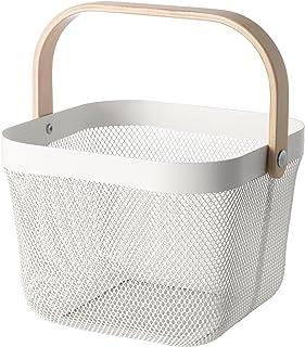 日本市場で強力 [IKEA]RISATORPバスケット、ホワイト