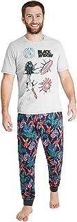 MARVEL Pyjamas for Men | PJ Sets with Captain America Shield and Avengers Superhero Tshirt | Mens Pyjama with Short Sleeve...