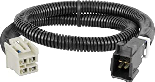 CURT 51452 Quick Plug Electric Trailer Brake Controller Wiring Harness for Select Chevrolet Silverado, GMC Sierra