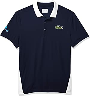 Lacoste Men's Sport Miami Open Edition Piqué Side Panel Polo