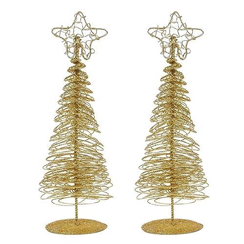 Gold Christmas Table Decorations Amazon Com