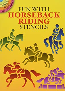 Fun with Horseback Riding Stencils
