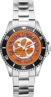 Gift for Clemson Tigers University Fan Article Watch 6514