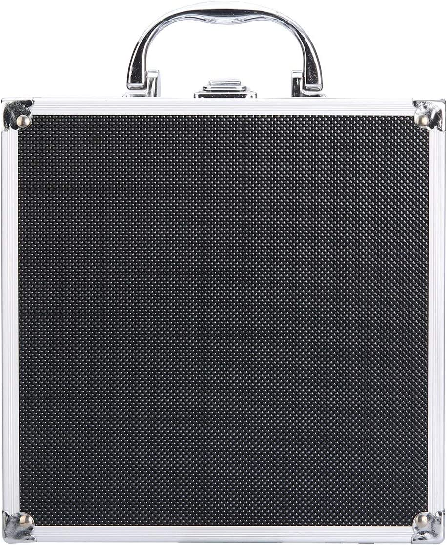 HARIKA Black Aluminum Alloy Tool Storage Long-awaited Store Box Case Handheld