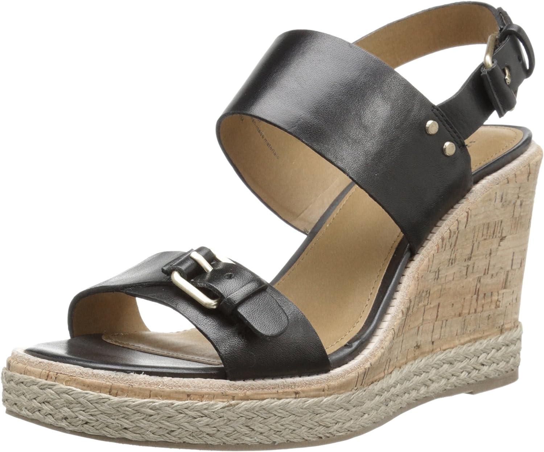 G.H. Bass & Co. Womens Tyra Wedge Sandal