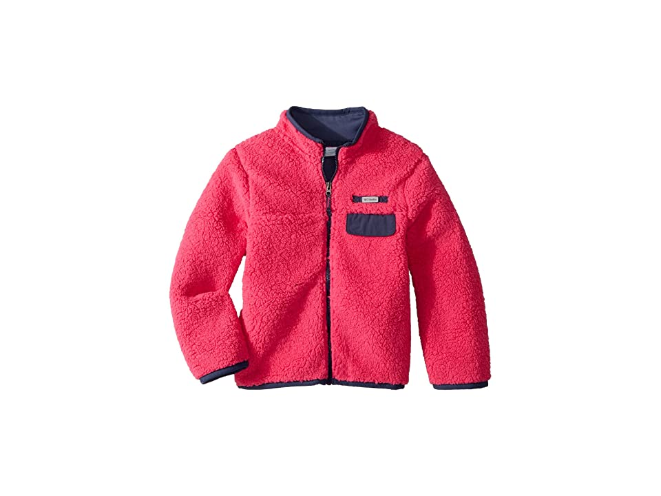 Columbia Kids Mountain Side Heavyweight Full Zip Fleece (Little Kids/Big Kids) (Cactus Pink/Nocturnal) Girl