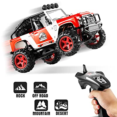 RC Truck, Abask 40KM/H Remote Control Vehicle, ...