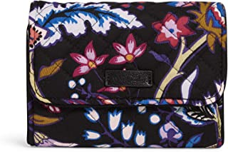 Women's Signature Cotton Riley Compact Wallet with RFID Protection
