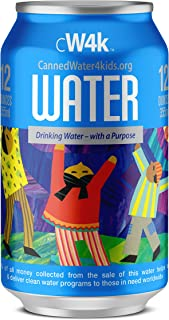 CannedWater4Kids (CW4K) Canned Drinking Water