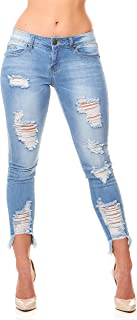 Best ripped jeans for women plus size Reviews