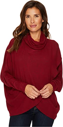 Nally & Millie - Brushed Sweater Wrap Tunic