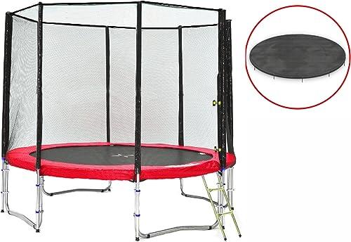 El ultimo 2018 Simple-Jump Cama Elastica Elastica Elastica - Trampoline de Jardin - UV- Resistente - Calidad superior - Varios Colors y tamaños (rojo, 305cmcon cubierta)  edición limitada en caliente