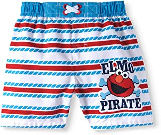Elmo Baby Boys Boardshort Swim Trunks
