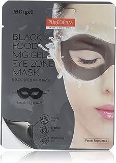 Purederm Black Food Gel Eye Zone Mask, 0.7 Ounce