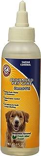 Arm & Hammer Dog Dental Care Tartar Control Dental Gel for Dogs | Reduces Plaque & Tartar Buildup, 4 ounces, Mint Flavor
