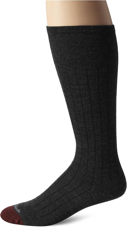Allen Edmonds Men's Merino Wool Over-The-Calf Socks Blend Luxury goods Navy Special Campaign