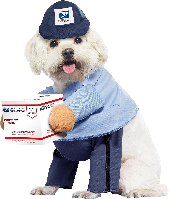 Dog Mail Branded goods Carrier USPS Brand new Costume