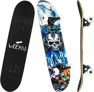 Details about  /Skateboard Skate Skateboard Deck Board Wood light Logotipia Blue