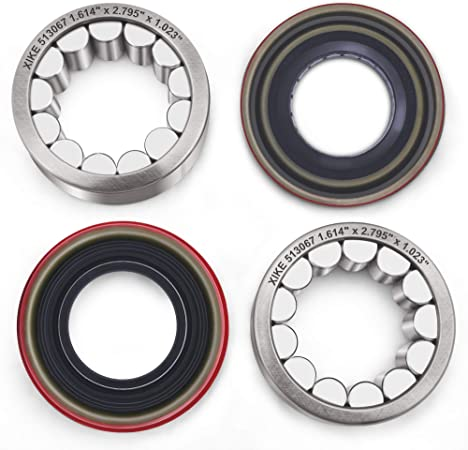 Include SET10 and 43252-7S200 Compatible Dana 44 Rear AMC 20 and M226 Rear 04-07 and More. Non-Rubicon JK XiKe 1 Set Axle Bearing /& Seal Kit