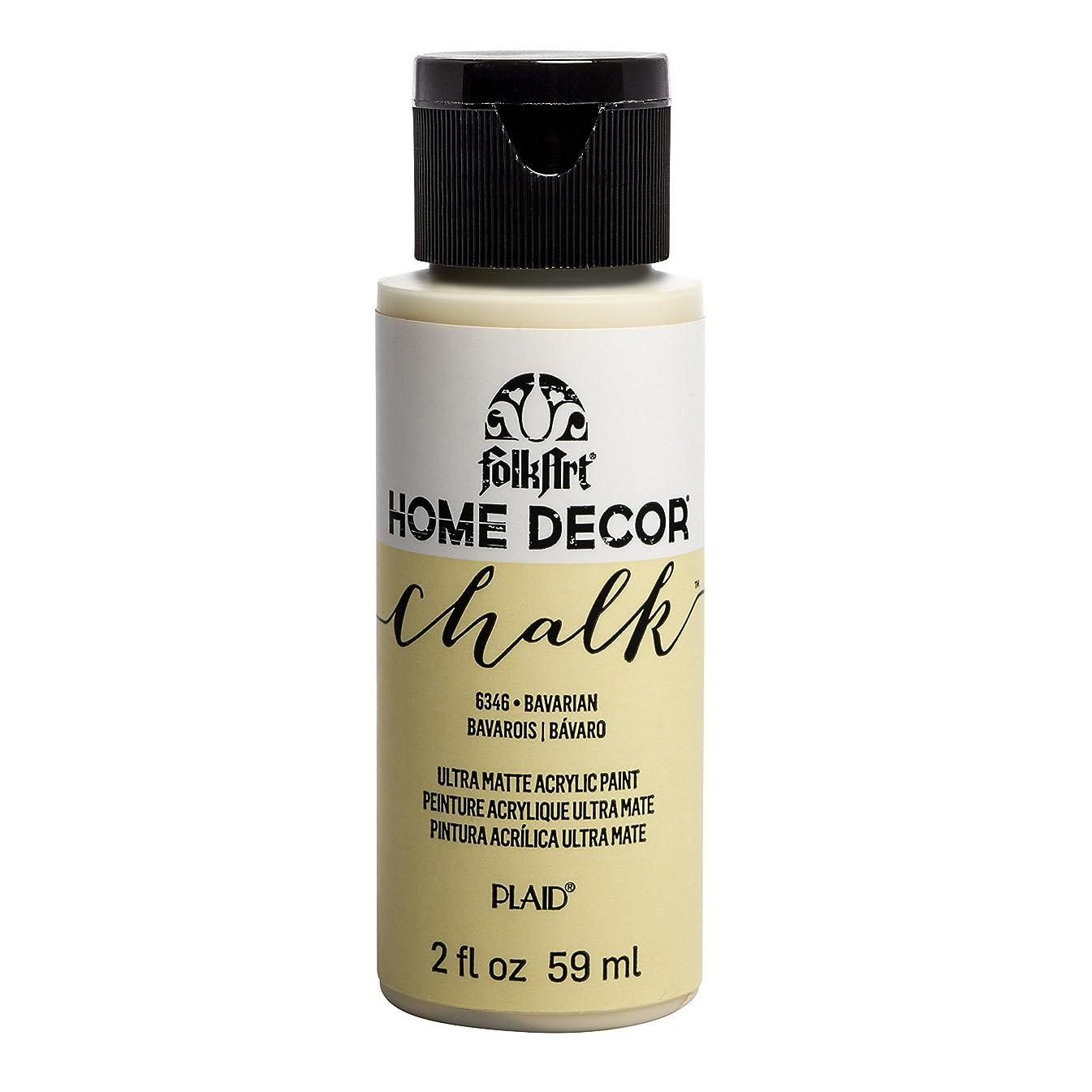 FolkArt 6346 Home Décor Chalk Acrylic Paint, 2oz, Bavarian