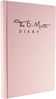 The 6-Minute Diary | 6 Minutes a Day for More Mindfulness, Happiness and Productivity | A Simple and Effective Gratitude Journal and Undated Daily Planner (Orchid Pink)