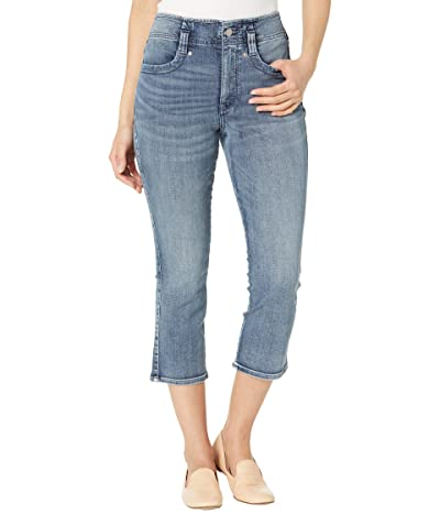 NYDJ High-Rise Ami Skinny Denim Capris in Monet Blue (Monet Blue) Women